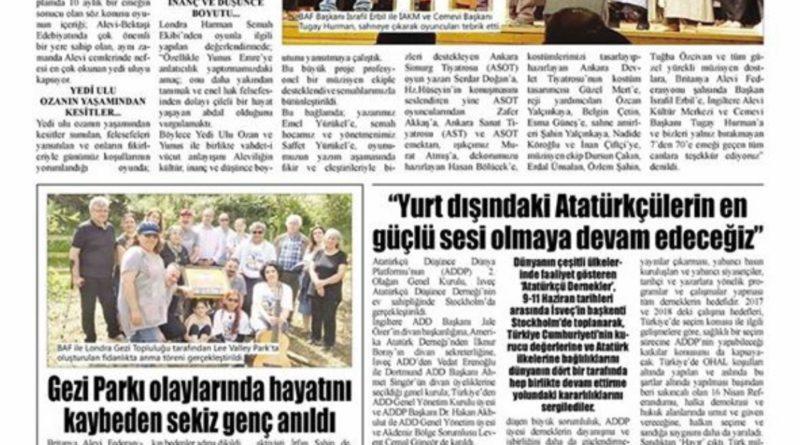 Haber Gazetesi 16.06.17
