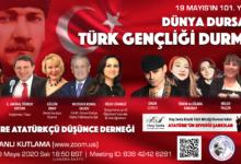 19 Mayıs'ın 101. Yaşında; Dünya dursa da, Türk Gençliği durmaz!