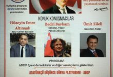 ADDP 29 Ekim Cumhuriyet Bayramı programı
