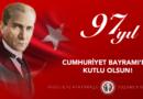 Cumhuriyet Bayramı'mız Kutlu Olsun!
